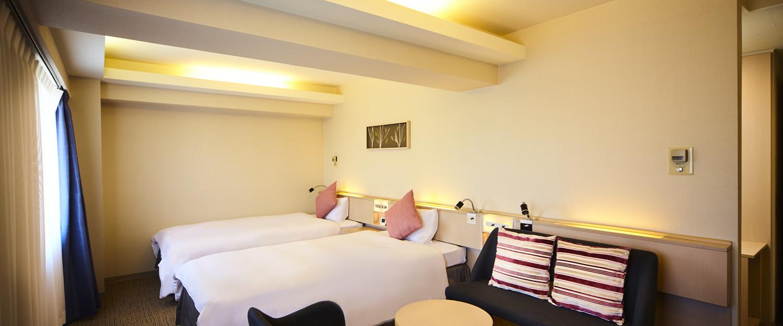 객실 [공식 홈페이지] 티마크 시티 호텔 삿포로