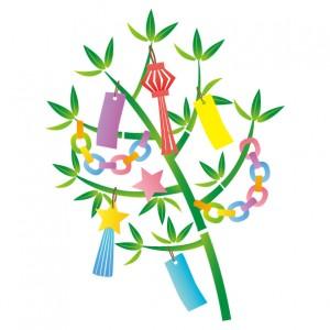 夏の風物詩 七夕『笹竹飾り』