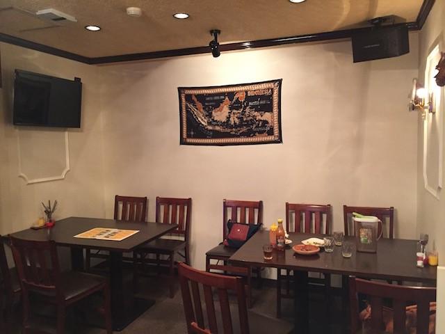 インドネシア家庭料理「Dapoer Koneng Indonesia Cafe」