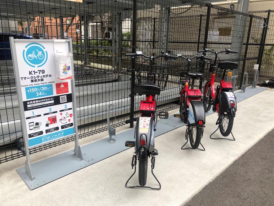 Ota-ku Community Share Bicycle (docomo-cycle)